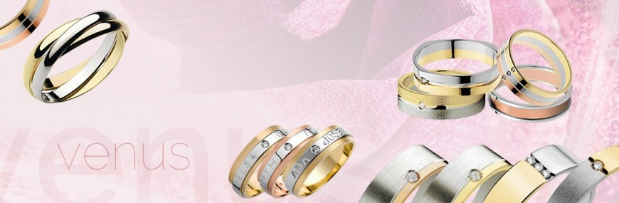 Alianzas de boda: Venus